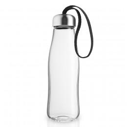 Бутылка стеклянная 500 мл черная