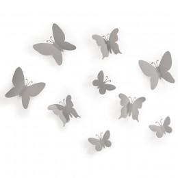 Декор для стен Mariposa 9 серый