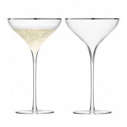 Набор из 2 бокал-креманок Savoy 250 мл платина