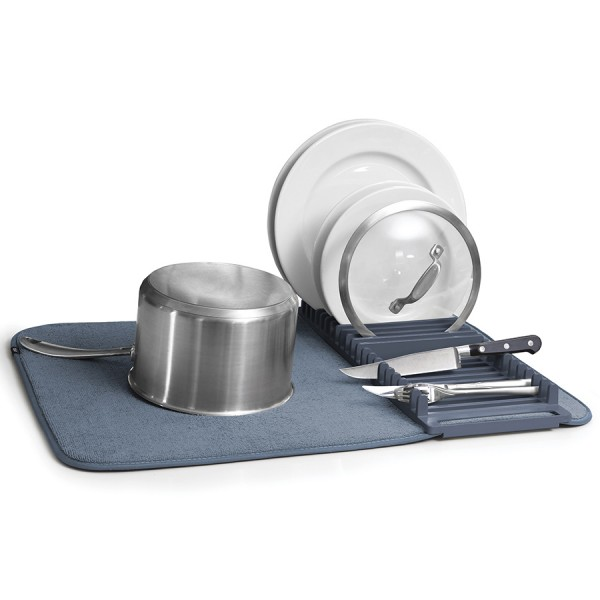 Коврик для сушки посуды UDRY синий