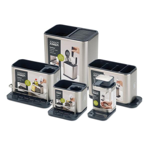 Органайзер для кухонной утвари и ножей Surface из нержавеющей стали