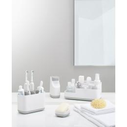 Органайзер для зубных щеток EasyStore™ большой белый-серый