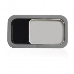 Форма для выпечки под ланч-бокс MB Original 3 шт. серая + черная