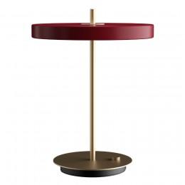 Светильник настольный Asteria 31х41,5 см красный