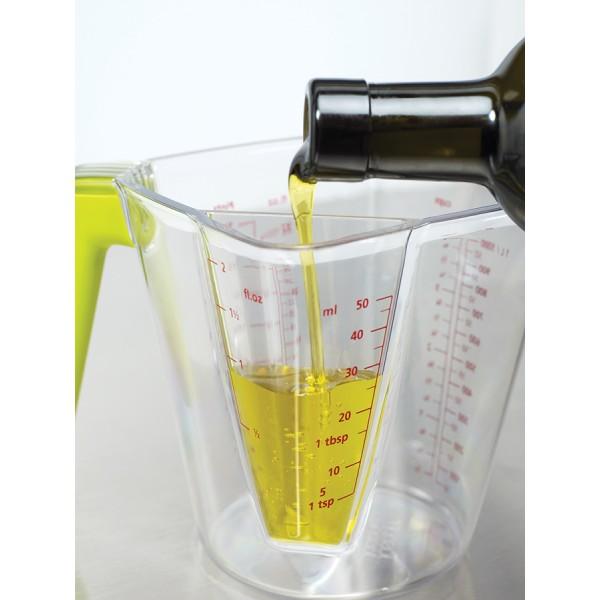 Мерный стакан с делениями 2 в 1
