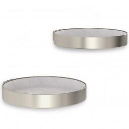 Набор полок Perch 2 шт. никель