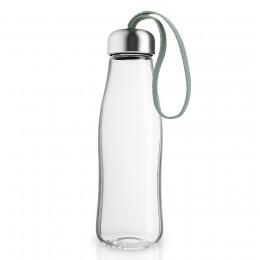 Бутылка стеклянная 500 мл светло-зеленая