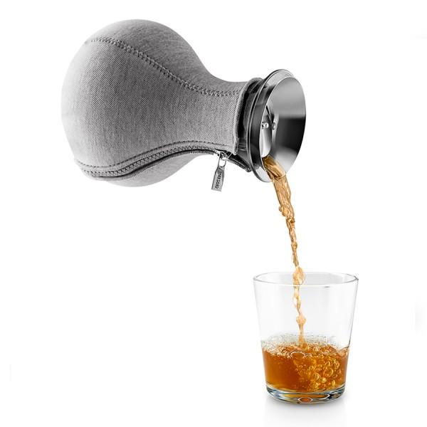 Чайник заварочный Tea Maker в неопреновом чехле 1л темно-серый