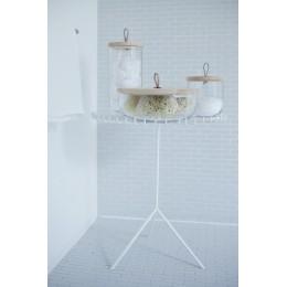 Чаша с деревянной крышкой из ясеня LSA International Ivalo, 15,5 см