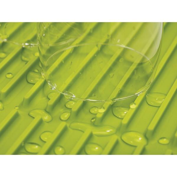 Коврик для сушки посуды Flume оливково-зеленая