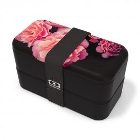 Ланч-бокс MB Original Flower mood black