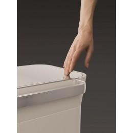 Контейнер для мусора с прессом Titan 30 л серый