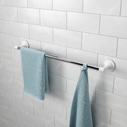 Держатель для полотенец раздвижной Flex хром