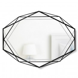Зеркало настенное Prisma черный