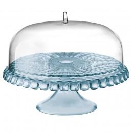 Тортовница Tiffany голубая