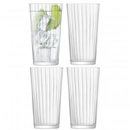 Набор из 4 стаканов для сока Gio Line 320 мл