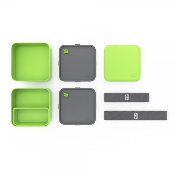 Ланч-бокс MB Square зеленый