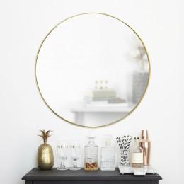 Зеркало настенное Hubba 86 см латунь