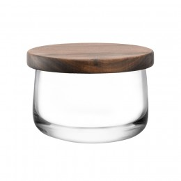 Чаша с деревянной крышкой City D13 см