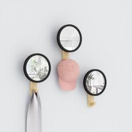 Настенное зеркало Hub с крючком-вешалкой