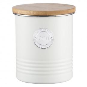 Емкость для хранения кофе Living кремовая 1 л