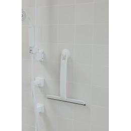 Скребок для ванной Flex белый