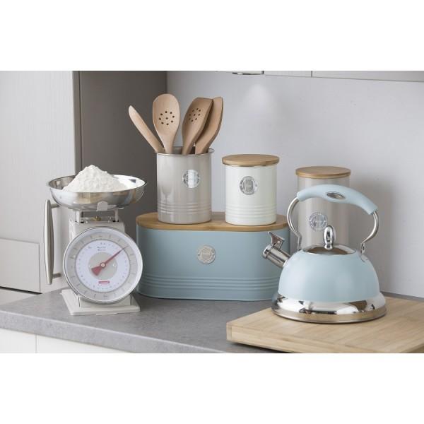Емкость для хранения чая Living кремовая 1 л