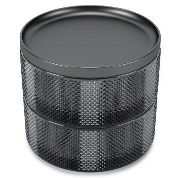 Шкатулка для украшений Tesora дымчатая