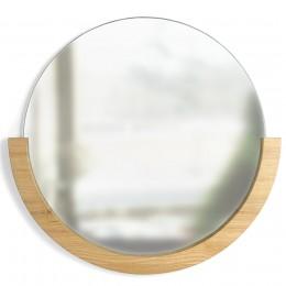 Настенное зеркало Mira D82 натуральное дерево