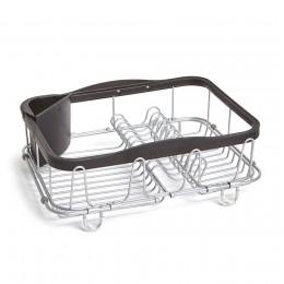 Сушилка для посуды Sinkin черный/никель