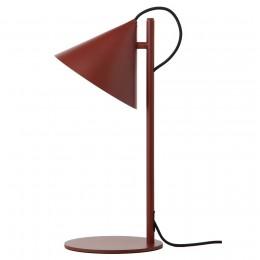 Лампа настольная Benjamin темно-красная матовая
