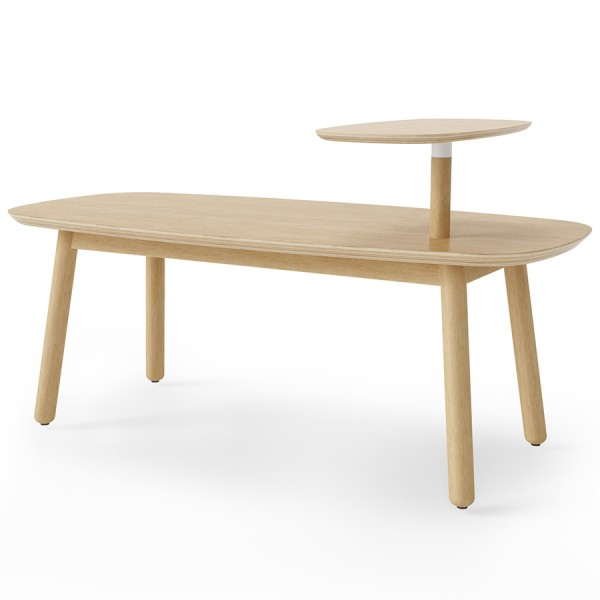 Столик кофейный Swivo 120х56х62 см натуральное дерево