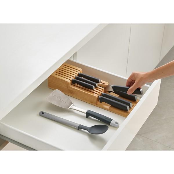Органайзер для ножей DrawerStore Bamboo деревянный