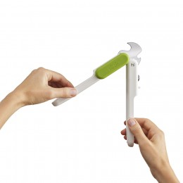 Открывалка 3-в-1 Pivot бело-зеленая