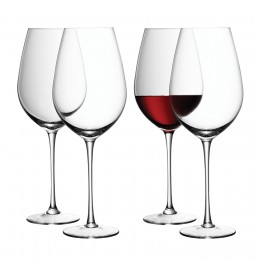 Набор из 4 бокалов для красного вина LSA Wine 850 мл