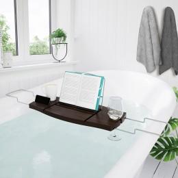 Полка для ванной Aquala орех NEW
