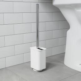Ёршик туалетный Flex белый
