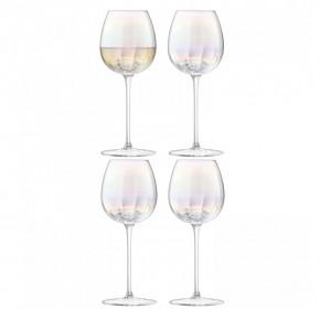 Набор из 4 бокалов для белого вина Pearl 325 мл