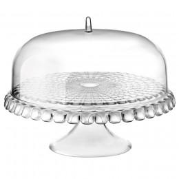 Тортовница Tiffany прозрачная