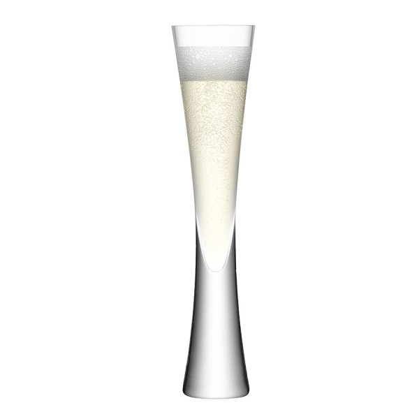 Набор из 2 бокалов-флейт LSA Moya 170 мл прозрачный