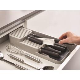 Органайзер для ножей DrawerStore компактный белый