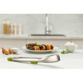 Щипцы кухонные Elevate Steel зеленые