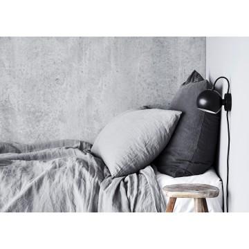 Лампа настенная Ball D12 см, черная матовая