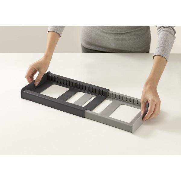 Органайзер для кухонной утвари DrawerStore серый