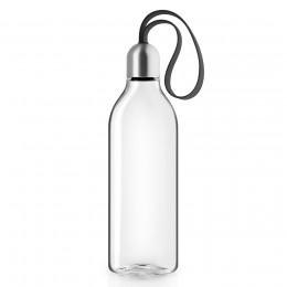 Бутылка плоская 0,5 л черная