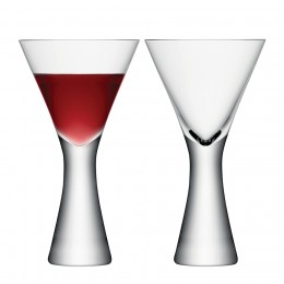 Набор из 2 бокалов для вина Moya 395 мл прозрачный