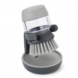 Дозатор моющего средства со сменной щеткой Palm Scrub™ серая