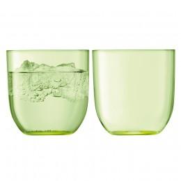 Набор из 2 стаканов Hint 400 мл зелёный