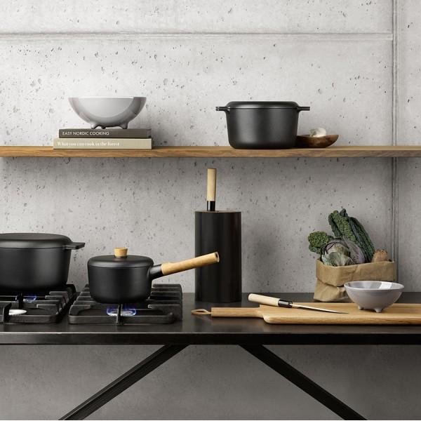 Подставка для ножей Nordic Kitchen чёрная