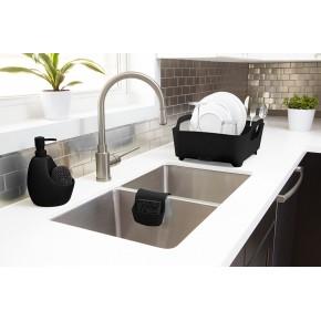 Сушилка для посуды Tub черная